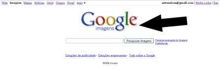 4° Etapa: Selecionar a página de busca por imagens.