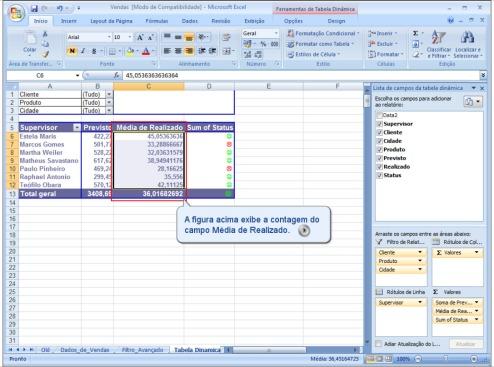 Alterando dados da Tabela Dinamica 5