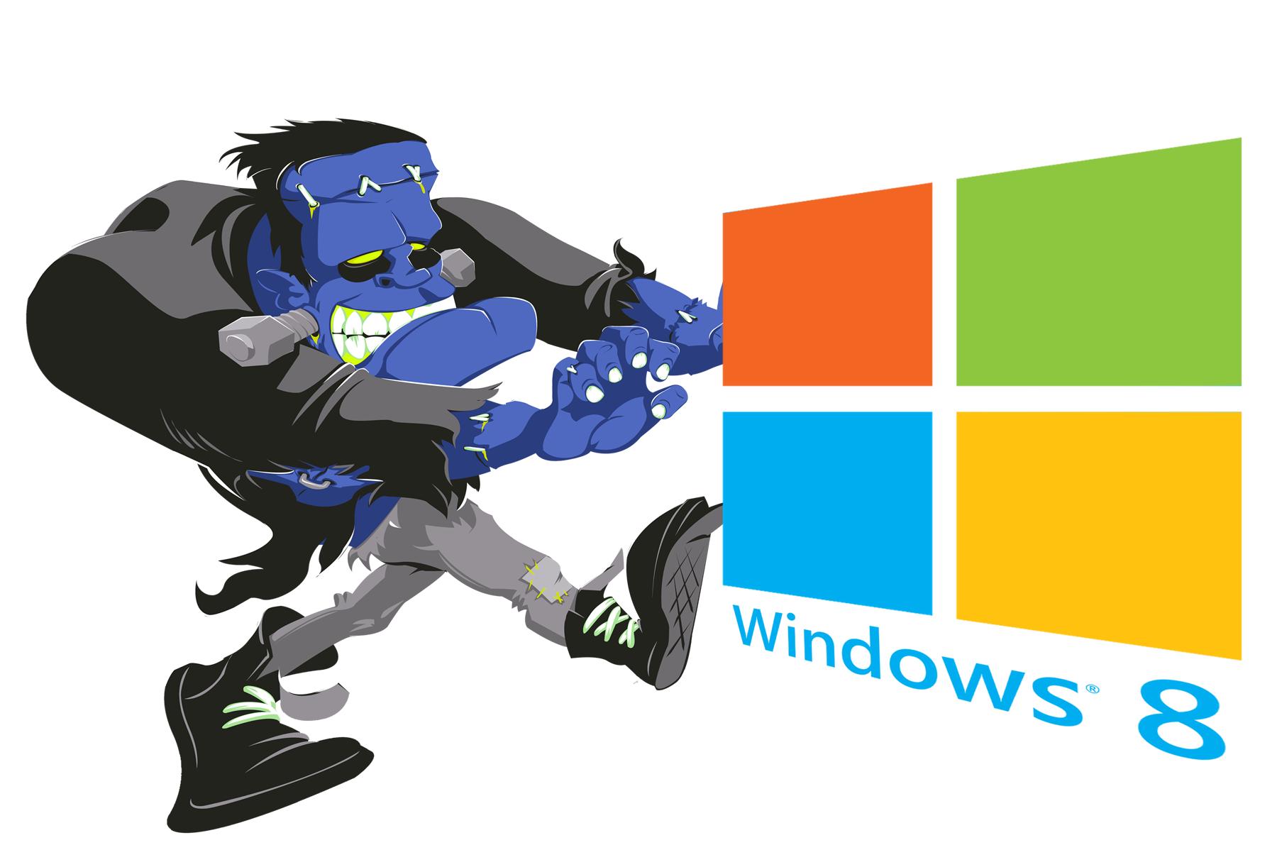 Microsoft e Frankenstein pela reunificação dos computadores